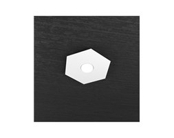 Hexagon Plafoniera Led 1 Luce Bianco25x29cm - Top Light LED Moderno Zona giorno