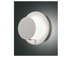 Applique fulmoon rotonda in metallo led 14w bianco dimmerabile luce indiretta