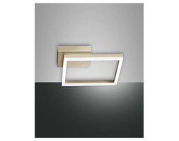 Applique plafoniera moderna led w quadrata dimmerabile bianco