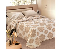 COPERTA IN LANA MARGHERITE - Made in Italy - 2 piazze. letto matrimoniale