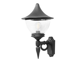 Konstsmide 485-750 illuminazione da esterno Outdoor wall lighting Nero