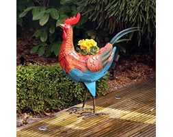 Craftsman NP8 Rooster Planter, Trasparente, 34 x 58.5 x 20 cm