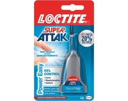 Colla in cianoacrilato universale LOCTITE Power Easy Gel Control 4 g