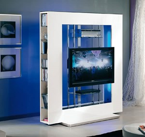 Carrelli Porta Tv Cristallo. Elegant Porta Tv In Acciaio Sydney Di ...
