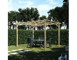 Pergola Apple in legno marrone L 400 x P 300, H 248 cm