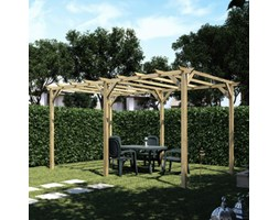 Pergola Apple in legno marrone L 500 x P 300, H 248 cm