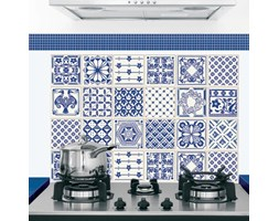 Sticker Kitchen Pannel Classic Aaulejos