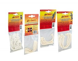 STOPPINI Ricambio per Torcia Bamboo 4er Pack Bianco