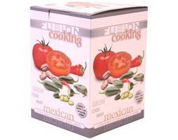 g piante 380001Fusion Grow Your Own Cooking Kits orientale, messicano, mediterraneo, italiano 1of 4 Beige