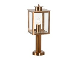 Oaks Lighting - Lanterna per Esterni con Piede Centrale, in Ottone