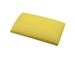 Morfeo Relax - 2 Guanciali In Memory Foam Giallo Con stampe