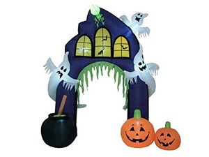 Europalms Halloween Decoratione Gonfiabile, 270 cm, Multicolore, Taglia Unica