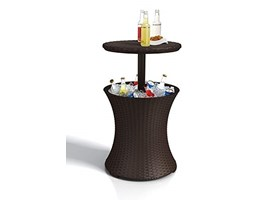 Curver Tavolo Bar Rattan Marrone