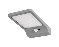 Silamp plafoniera led w con sensore di movimento applique