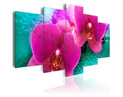 Quadro - Exotic Orchids 100x50cm Erroi
