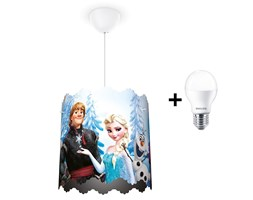 Philips 71751/01/16 - Lampadario LED per bambini DISNEY FROZEN 1xE27/6W/230V LED