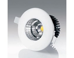 GEORGE, Faretto incasso tondo COB led