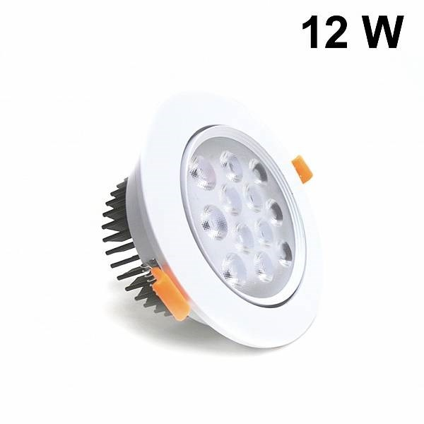 Lampadine Faretto Led Incasso 12w.Silamp Faretto Led 12w Da Incasso Diametro 138 Mm Orientabile Driver Incluso Fi34 12w