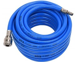 Yato yt-24224–Air Hose PVC with Coupling Blu