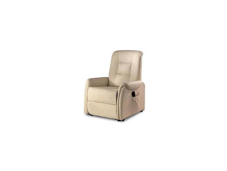 Poltrone Relax Alzapersone.A Zig Zag Poltrona Relax Alzapersona Lift Similpelle Beige