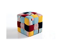 Pouf editor in tessuto patchwork Patchwork Glamour