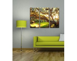 Homemania Quadro Da Parete 3 Pannelli Forest Canvas Art Multicolore W69xD2xH50 cm