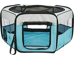 Trixie Pet Products Morbido Lati Mobile Play Pen Verde