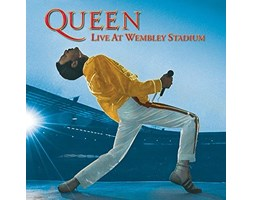 Queen Tela Stampata 40 x 40 cm (Live At Wembley Stadium)