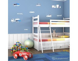 FLEXISTYLE Specchio Decorativo Cars, Modern Design Decoration, 3mm Acrylic Mirror from EU, Living Room, Bedroom, Hallway, Unbreakable, DIY Home Decoration, Silver, Made in EU