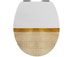 Copriwater ovale Diplomat Art Deco Chic