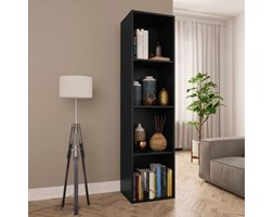 vidaXL Libreria / Mobile TV Nero 36x30x143 cm in Truciolato