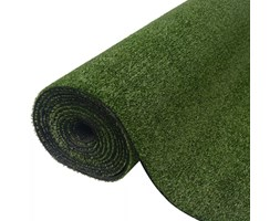 vidaXL Erba artificiale 1x5 m/7-9 mm verde