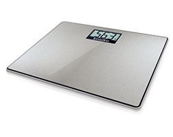 Terraillon BEM34018SS Electronic personal scale Square Stainless steel - Personal Scales (Electronic personal scale, 160 kg, 100 g, kg, Square, Stainless steel)