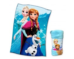 PLAID COPERTA IN PILE DISNEY FROZEN cm. 100 x 150 v. blu Pile