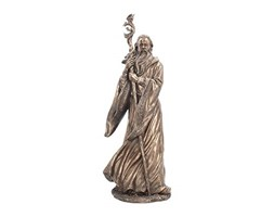 Nemesis Now Merlin - Statuetta in bronzo, 53 cm, colore: Bronzo