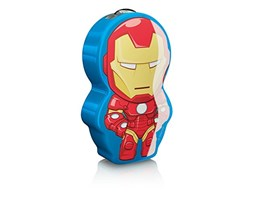 Philips Lighting, Iron Man, Torcina Luce notturna LED per bambini