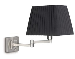 Philips Lighting Lampadario da Parete E14 1x 28 W, Lampadina Inclusa, max 40 W Grigio