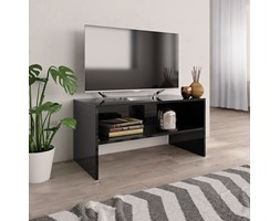 vidaXL Mobile TV Nero Lucido 80x40x40 cm in Truciolato