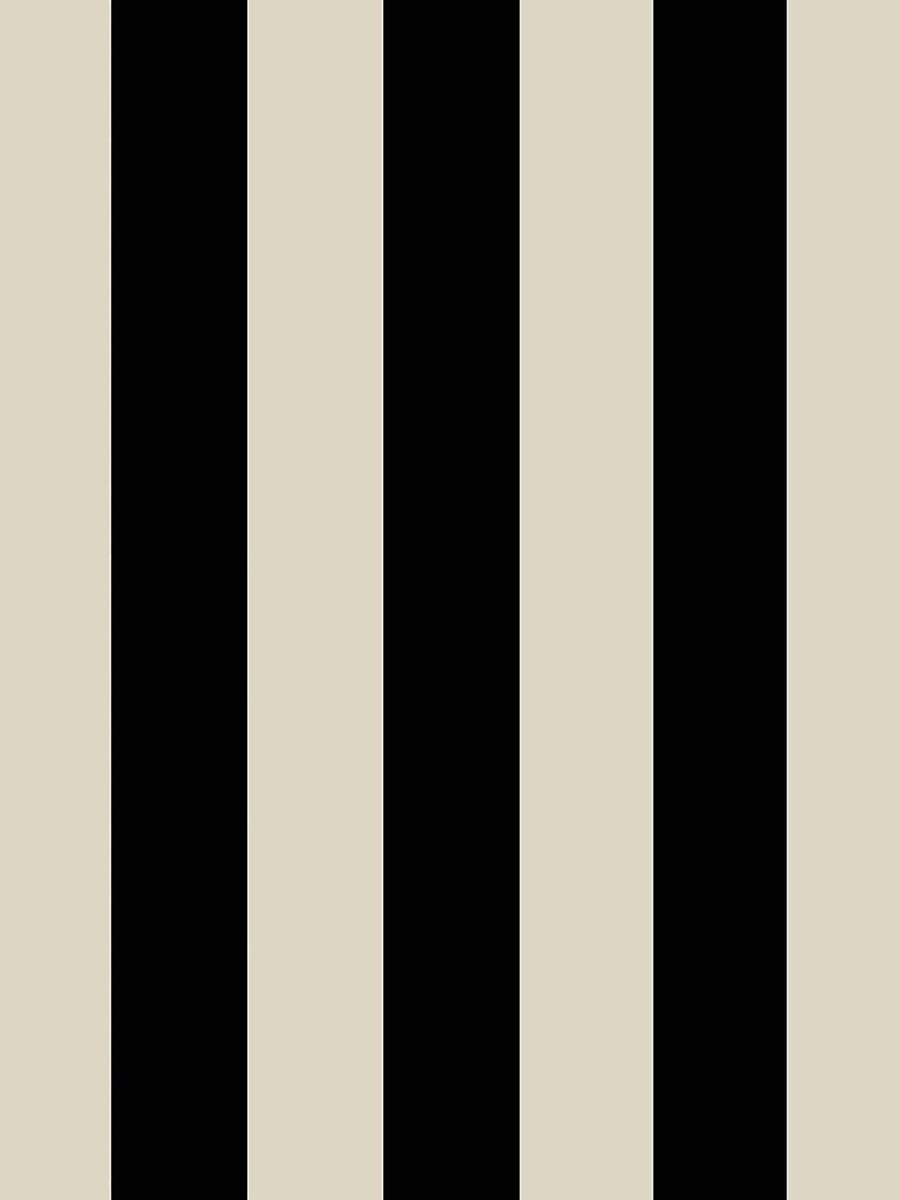 "Carta Da Parati ""mono Stripe"" Righe Beige"