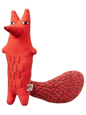 """Accessorio """"cyril Squirrel Fox"""" In Lambswool"""