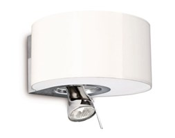 Philips Lighting Lampadario da Parete E14 1x 12 W, Lampadina Inclusa, max 12 W Bianco