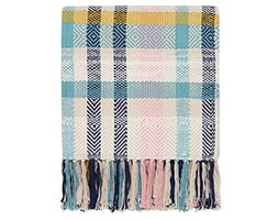Joules - Plaid Cambridge, Multicolore, 140 x 200 cm Grigio
