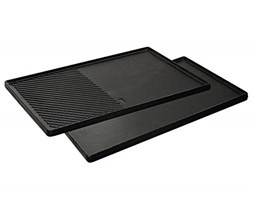 Enders SWITCH GRID reversible cast iron griddle for Enders gas barbecue Monroe Pro 4 SIK Turbo