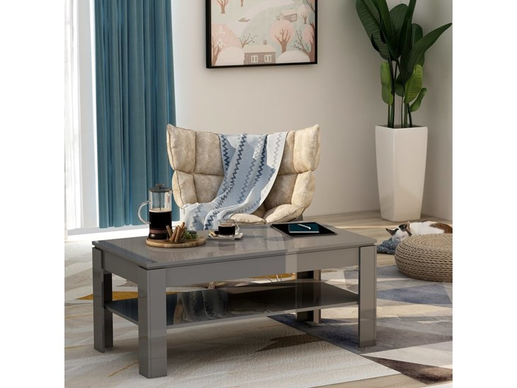 Beige Scuro Tavolino da salotto Trendteam Smart Living 110 X 47 X 65 Cm 1100112
