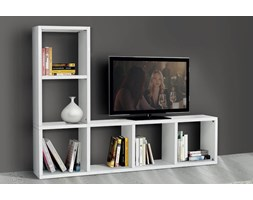 BEVERLY - mobile porta tv moderno in legno frassinato 175 x 30 x 132 Moderno