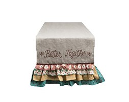 Glory Haus Better together runner, multicolore, 90x 43,2cm