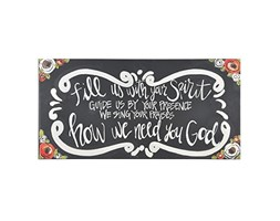 Glory Haus fill US with your Spirit tela, multicolore, 12x 61cm