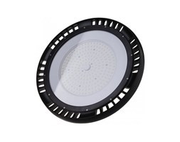 Campana Industriale LED V-TAC Chip Samsung 200W UFO con Driver MeanWell Colore Nero 120LM/W 120° 4000K IP65 Dimmerabile ( 1-10V )