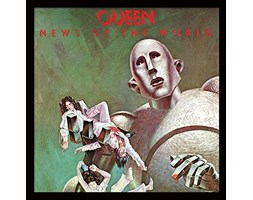 "Queen ""News of The World Album Cover Stampa incorniciata,, 30,5 cm Stampa artistica"