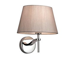 Firstlight, Lampada da parete, Grigio (Polished Stainless Steel with Oyster Shade)